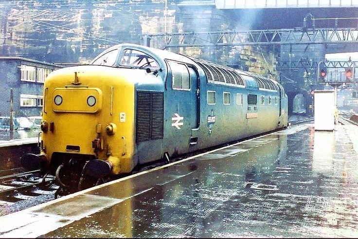 55013 'The Black Watch' at Liverpool Lime St on 15th Nov 1980. (Tony Kirkham)