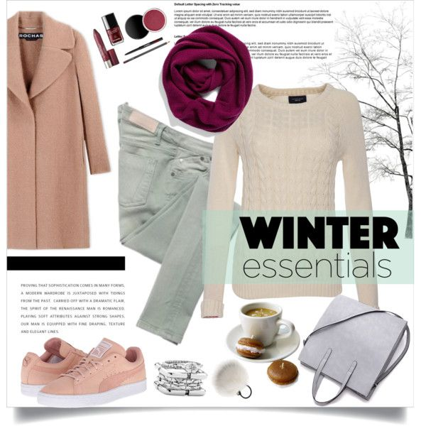 A fashion look from November 2015 featuring Lands' End t-shirts, Rochas coats and Victoria Beckham. Browse and shop related looks.