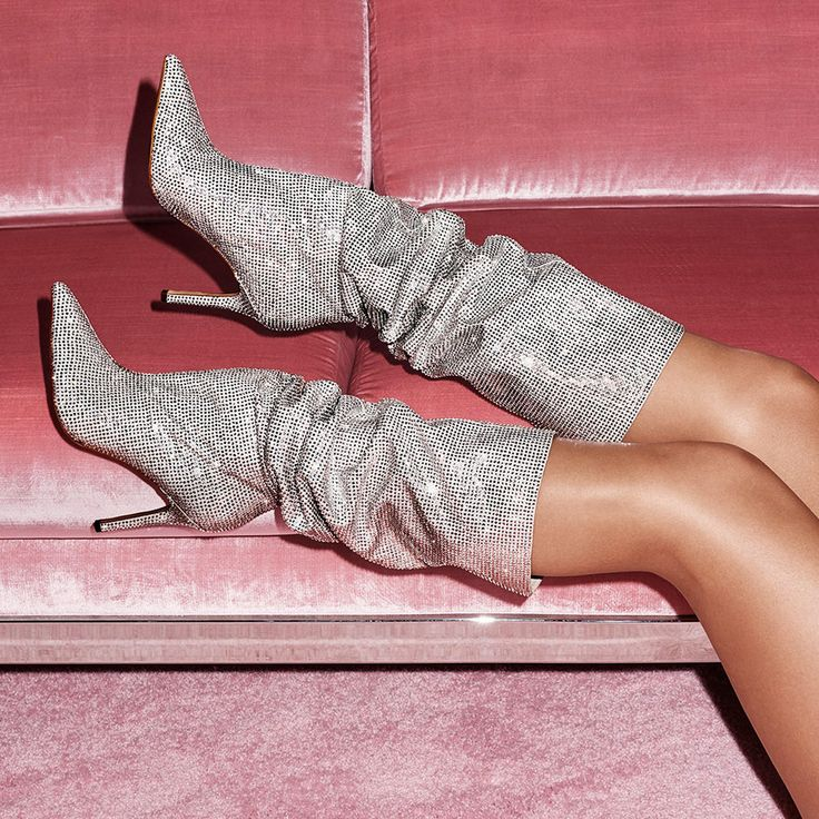 Aldo Claira Crystal Slouch Boots X5fNhOe
