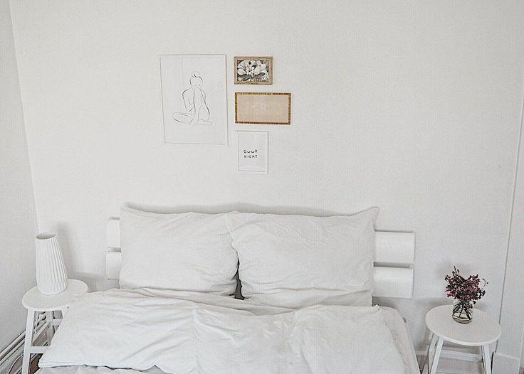 Die besten 25+ kleine weiße Schlafzimmer Ideen auf Pinterest - schlafzimmer ideen weiß