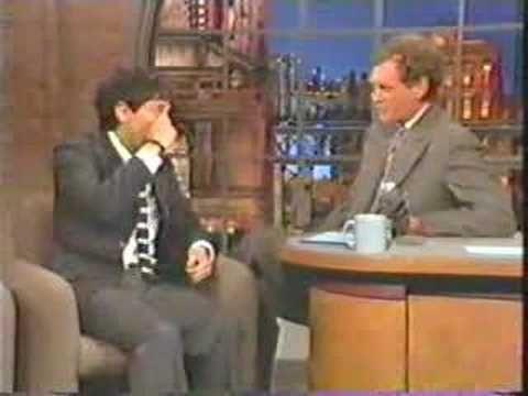 Harmony Korine on David Letterman 95