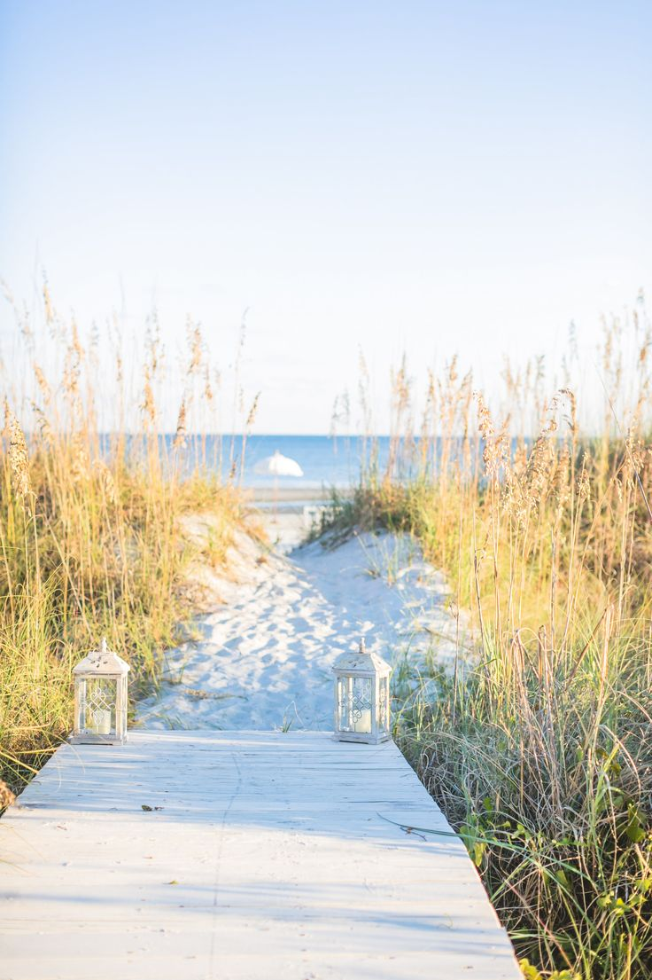 Gold Blush Hilton Head Island Wedding
