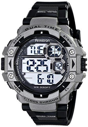 Armitron Sport Men's 40/8309GRY Sport Watch Check https://www.carrywatches.com Armitron Sport Men's 40/8309GRY Sport Watch  #armitronsportwatches-armitronallsport #armitronwr330 #militarystylewatch #sportwatches