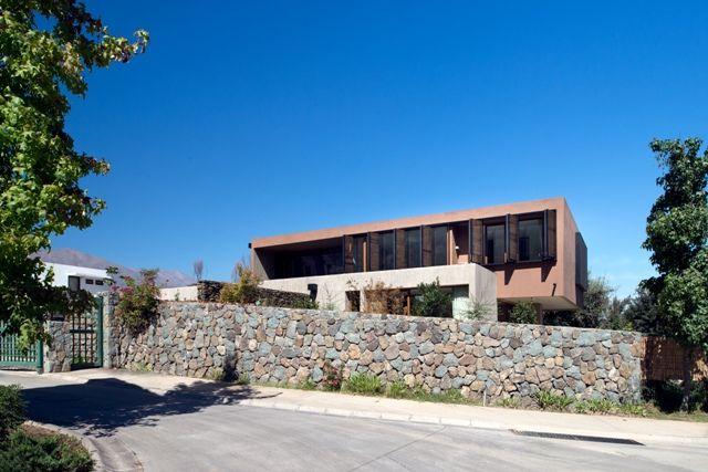 Fachadas Dinâmicas aplicadas ao design da Casa G, no Chile.