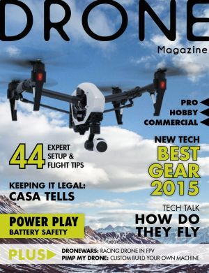PRE- RELEASE --Drone Magazine to launch in May - AdNews