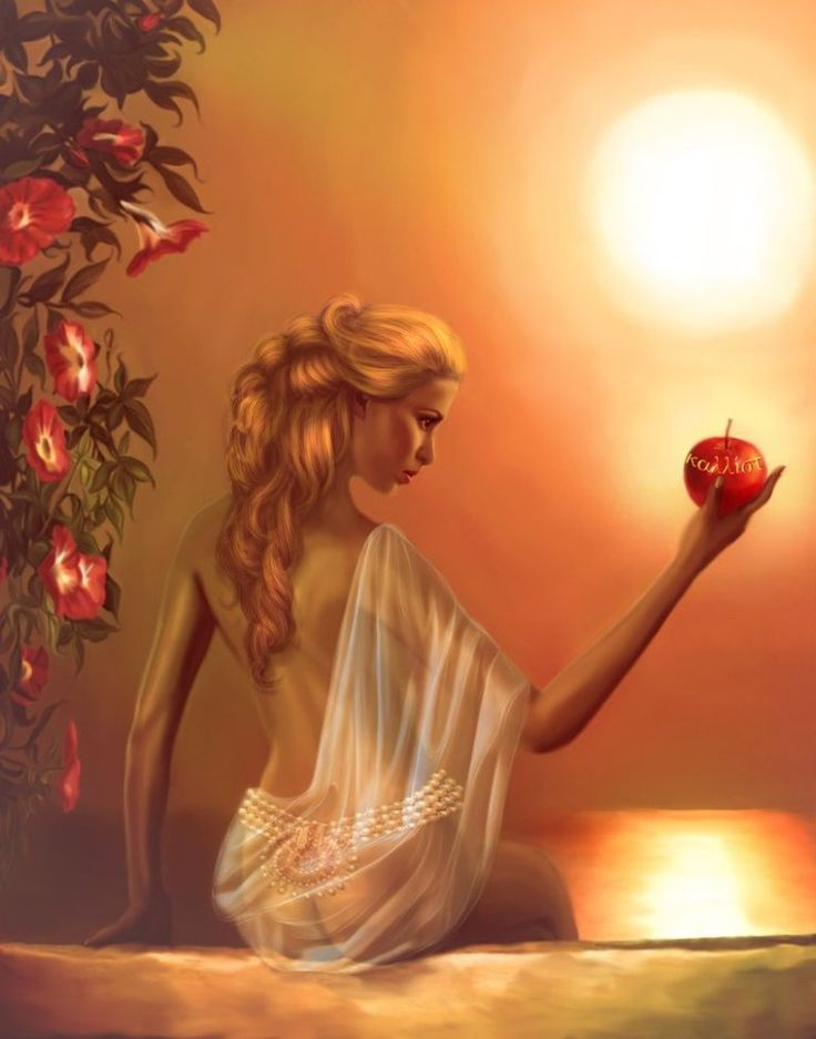 """""""Aphrodite's themes are love, romance, passion, sexuality, luck, fertility, beauty and pleasure. Her symbols are roses, copper, turquoise and sandalwood. Since 1300 B.C.E., Aphrodite h…"""
