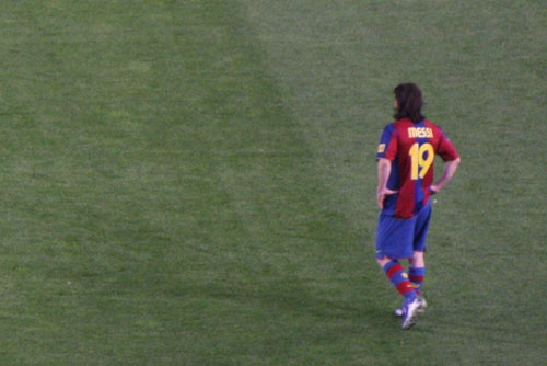 Leo Messi 2007-2008 season