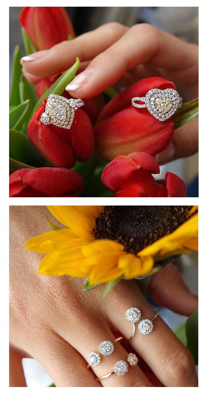A lasting shine for a lasting friendship..., Luxurman love & F\friendship rings are in trend this spring.