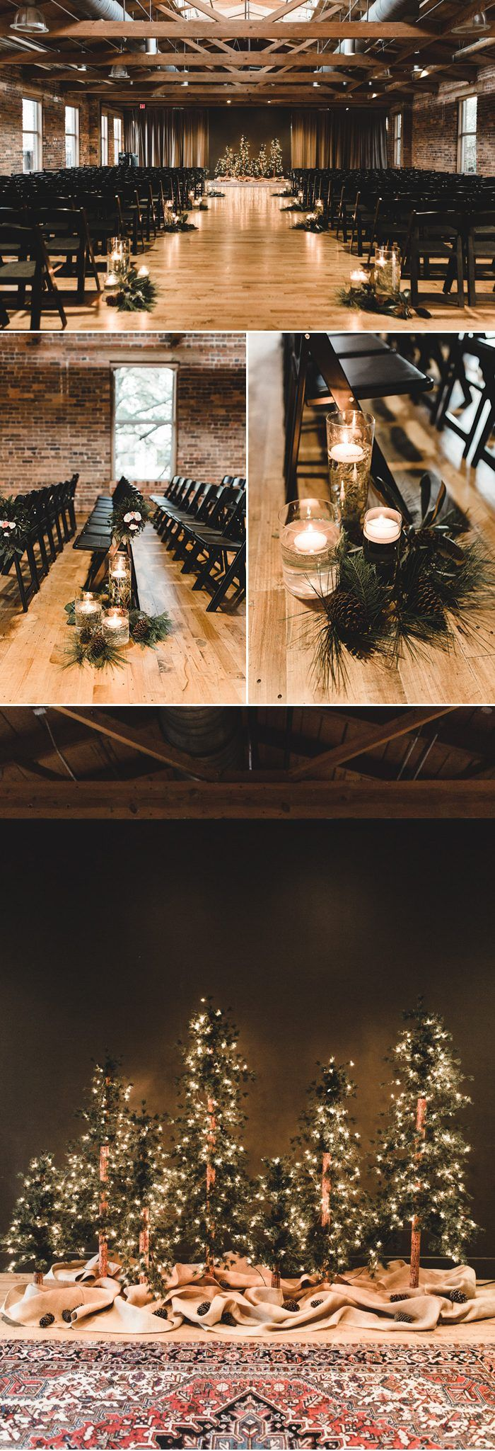 You Have To See The Unique Fashion Choices In This Epic Southern Wedding At Huguenot Mill And Loft Junebug Weddings Winter Wedding Ceremonies Winter Wedding Receptions Winter Wedding Planning