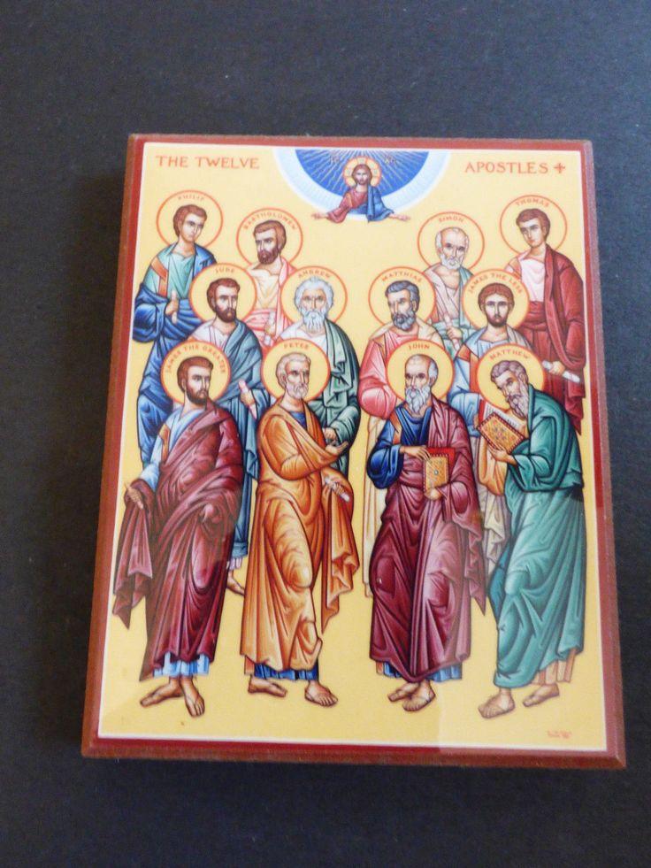 Windows Into Heaven Monastery Icons 12 Apostles Christian Catholic Church icon | eBay