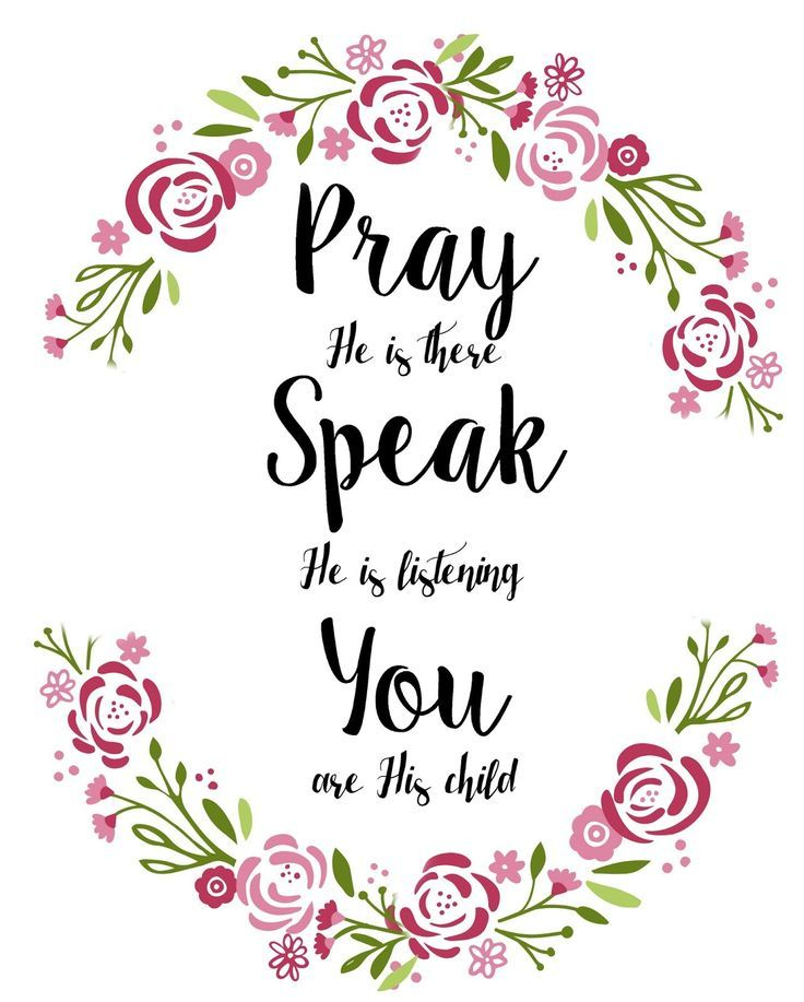 Free Printable. LDS song A Child's Prayer. Pray He is there, speak He is listening, You are His child. Mormon.