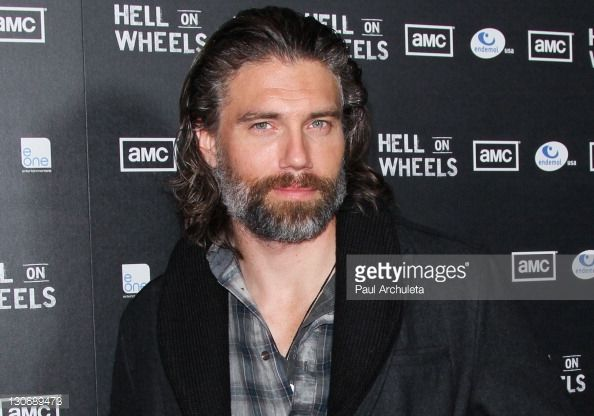 News Photo : Actor Anson Mount attends AMC's new series 'Hell...
