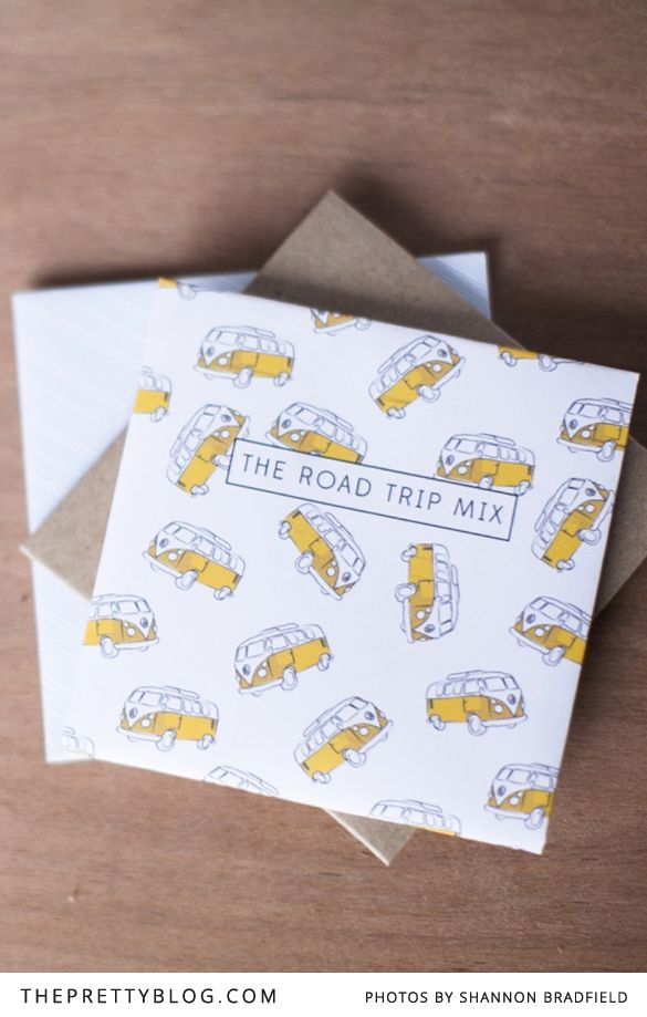 Mixed CD Cover Printables | {} | The Pretty Blog