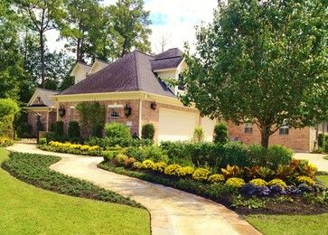 Garden Ideas Houston 45 best landscaping images on pinterest | houston, traditional