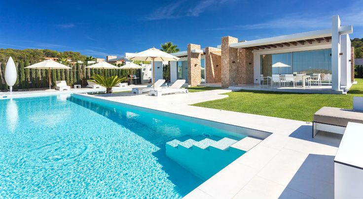126 best Les Piscines images on Pinterest Mansions, Villa and Villas - location villa piscine couverte chauffee