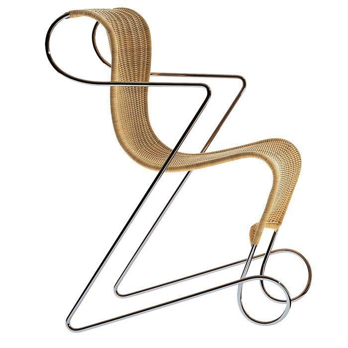 Chairs : Chair Zigo by Driade #designbest #design #ronarad #interiordesign #interiors #homestyle #living #homedecor #homefurniture #home #furniture #style