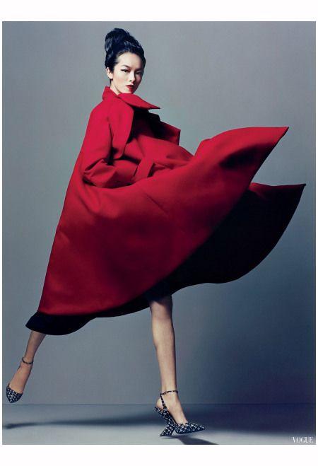 Fei Fei Sun Dior Raf Simons vogue 2013 Photo Craig Mc Dean