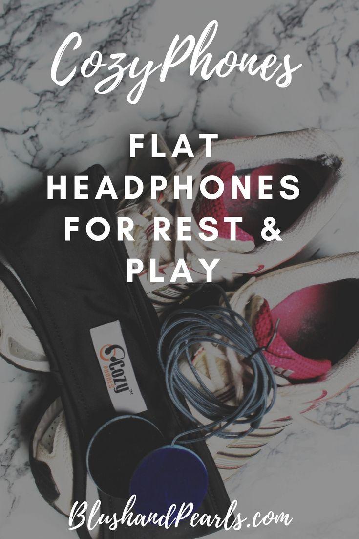 cozyphones review, flat headphones for sleep, headphones for travel #sleepwear #headphones #cozyphones #fitnessaccessories #activewear