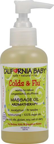 Cold and Flu Aromatherapy Massage Oil...this looks like it could be super beneficial.