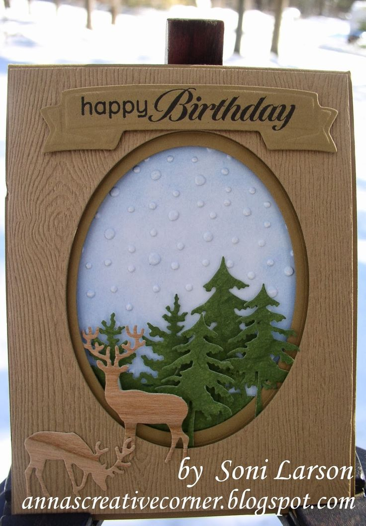123 best cards men images on pinterest man card masculine cards a peek inside the creative corner great masculine birthday card with little deer bookmarktalkfo Choice Image