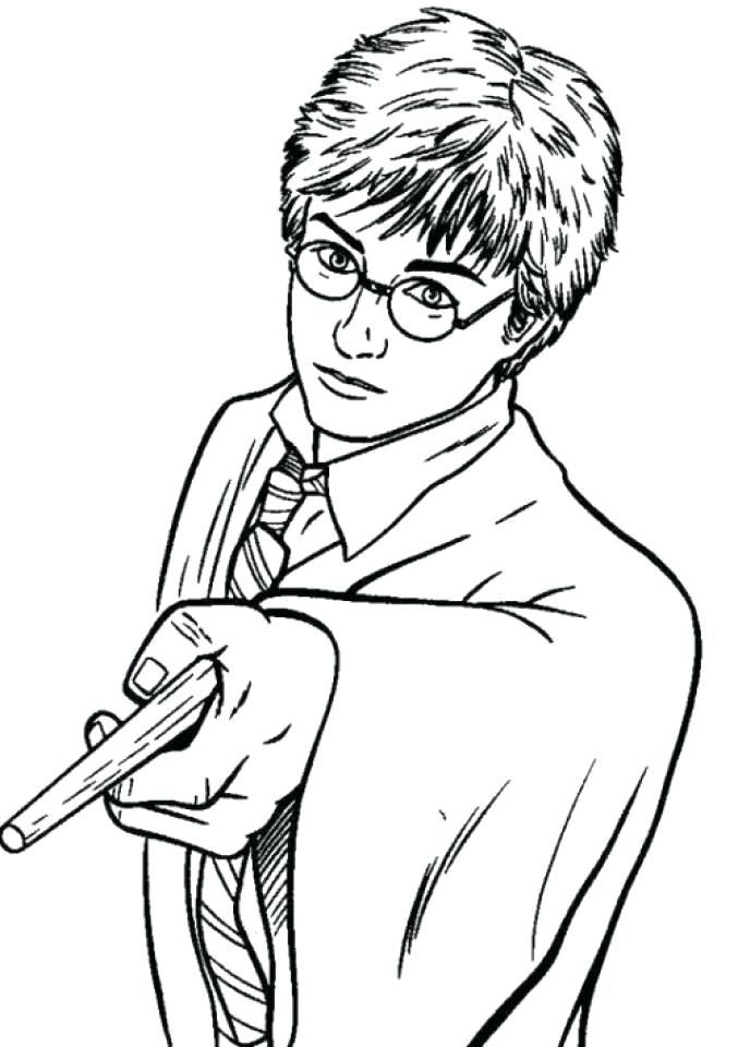 Harry Potter Free Coloring Pages Harry Potter Coloring Pages