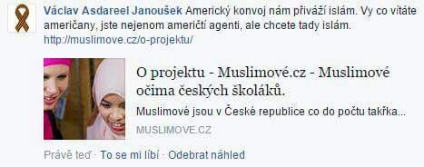 Americky konvoj privazi islam!