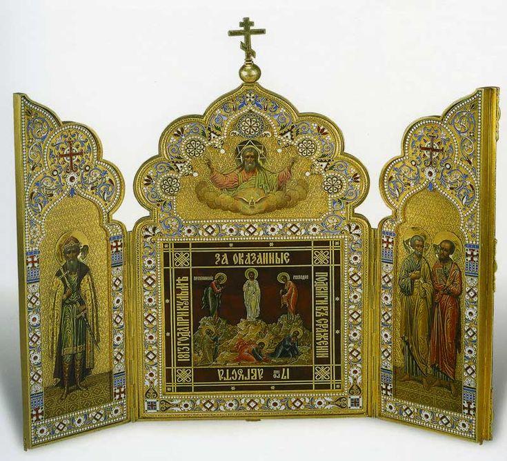 Преображення. Святий князь Володимир. Апостоли Петро і Павло