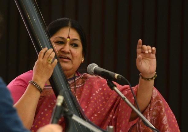Shubha Mudgal. File photo: S. Subramanium