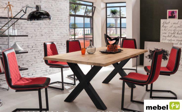 Stół dębowy PARMA M 180 cm, 200 cm lub 220 cm - sklep meblowy