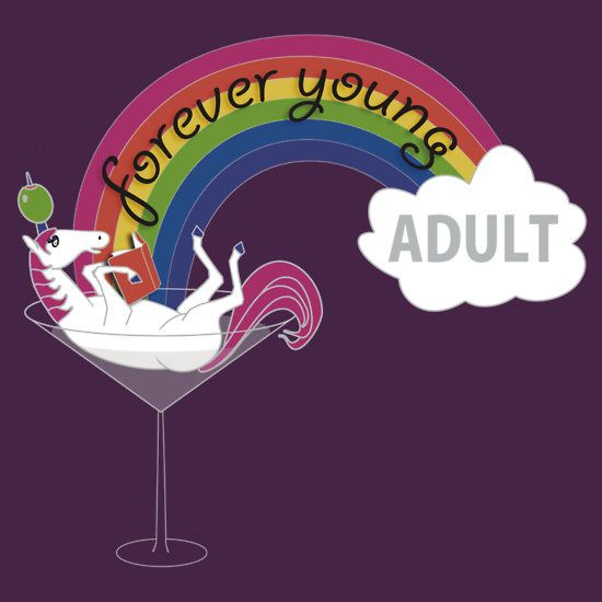 Logo and T-Shirt for Forever Young Adult