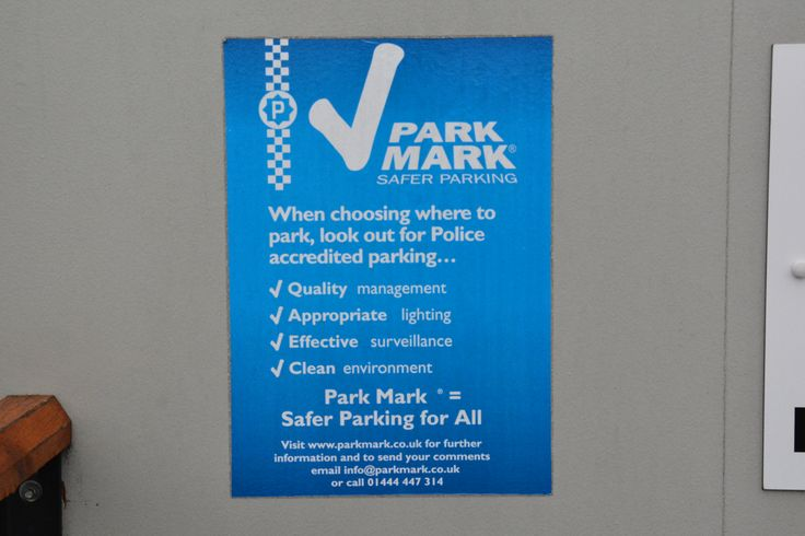 Park Mark - The Safer Parking Award
