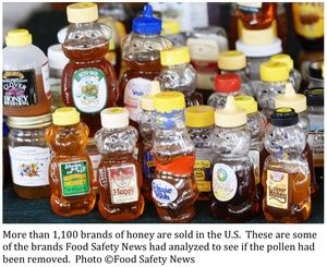 """There is NO honey in these bottles of """"honey"""" ~~  food-safety-news-honey-samples-tested-thumb-300x245-11649"""