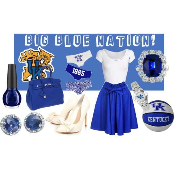 University of Kentucky Basketball, created by lemccoy on Polyvore