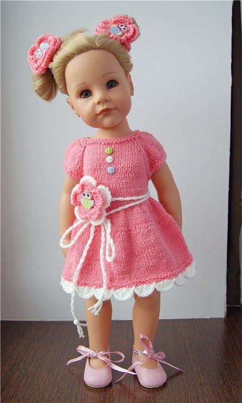 Платья для кукол больших фото