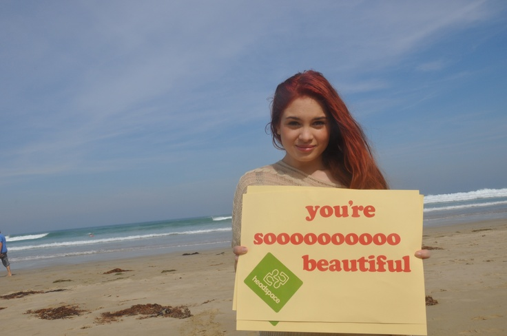 headspace ambassador Tyla Bertolli shares the love on National Compliments Day