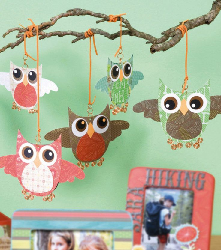 Whoo Loves You Owl Mobile at Joann.com