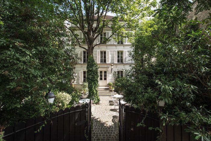 Notre Paris (un peu) secret Hôtel Particulier Montmartre Paris