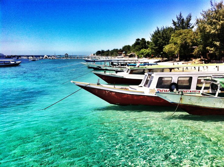 Gili Terawangan Sea Shore, Lombok, Indonesia