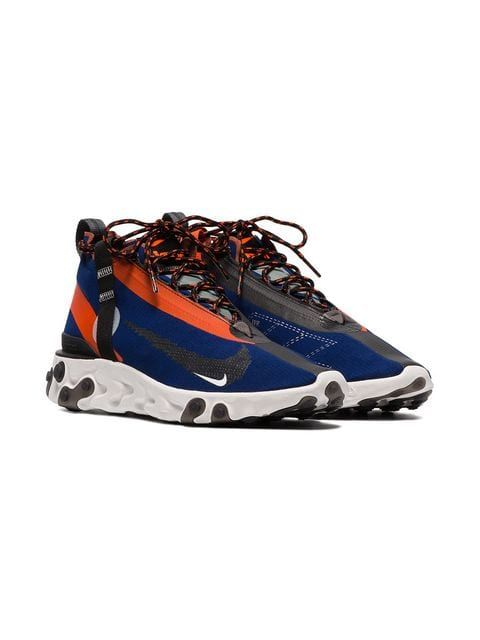 new styles c606d 6c2c0 Nike Blue Orange And Black ISPA React Trainers - Farfetch Exclusive Sneakers,  Blue Orange,