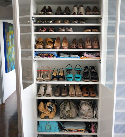 Nice IKEA Billy Shelving For Shoe Storage (Iu0027m So Doing This When I Get My New  Digs! No More Only Wearing One Pair/using One Bag U0027cause The Others Are  Packed ...