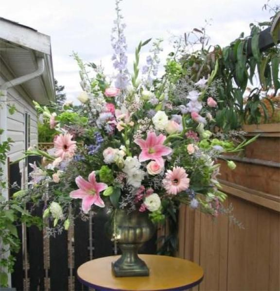 large floral arrangements   Flowers and Flower Arrangements   Old Fashioned Flowers of Oak Bay ...