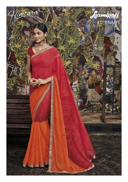 LadyIndia.com #Party Wear, Chiffon Saree Printed Designer Saree, Wedding Saree,Bridal Saree,Printed Saree,Party Wear, https://ladyindia.com/collections/ethnic-wear/products/chiffon-sari-printed-designer-saree