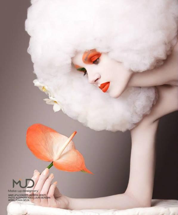 Make-up: Andreea Leonte; Photo: Alexandra Voicu, Laura Muresan; Photography, Model: Flavia Ciplea