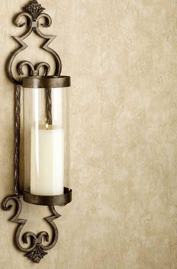 Lamps And Lighting Accessories Elegant Wall Decoration For Living Room Areas With Vintage Brown Sconces CandlesLighting