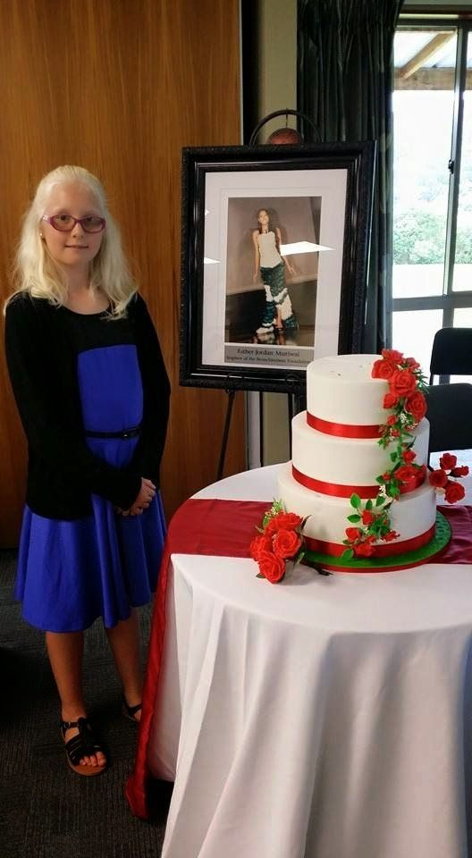 Bronchiectasis foundation support cake with my little friend Katie Reed