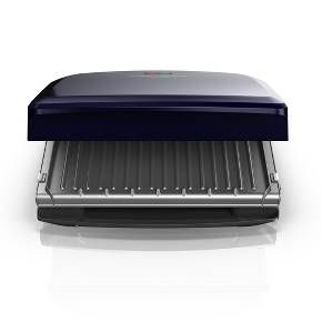 Delicious food can be fast! The Rapid Grill Series 5-Serving Electric Indoor Grill heats up 30% faster1 to deliver hot and tasty burgers, chicken, fish, Panini, vegetables, and more! The premium ceramic-coated grill plates are nonstick, dishwasher-safe, 5x more durable*, and free of PFOA and PTFE. Use the adjustable grilling angle to remove fat**, or lay it flat to toast sandwiches and grill vegetables! This electric indoor grill is a must-have for couples or small families who want easy…