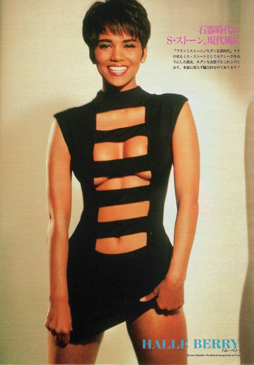 The only time I ever thought Halle Berry was as bad people said.
