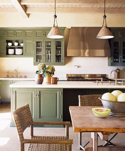 1000 ideas about olive green kitchen on pinterest tan - Olive green kitchen ideas ...