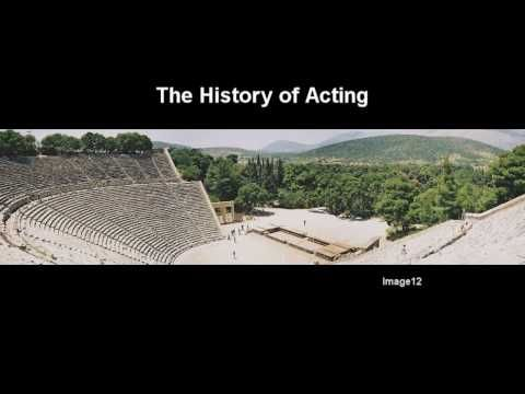Unit 1 - Section 1: What is Theatre? - YouTube