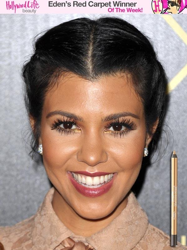 Kourtney Kardashian hair do!